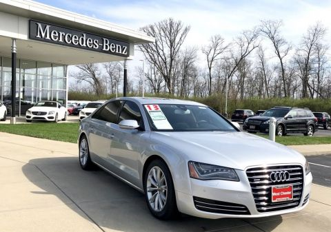 Pre-Owned 2013 Audi A8 L 3.0L quattro Tiptronic AWD