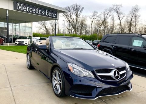 Certified Pre-Owned 2017 Mercedes-Benz E 400 Cabriolet