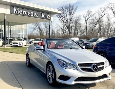 Certified Pre-Owned 2015 Mercedes-Benz E 400 Cabriolet