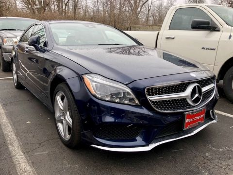 Certified Pre-Owned 2015 Mercedes-Benz CLS 550 4MATIC® 4-Door Coupe AWD