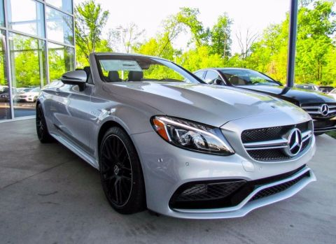 Pre-Owned 2017 Mercedes-Benz C-Class AMG® C 63 S Cabriolet