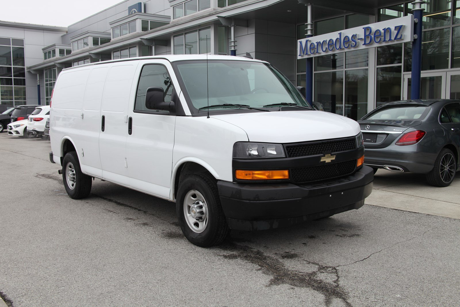 4ae6d55cdc Stock   UA11920 Pre-Owned 2018 Chevrolet Express Cargo Van RWD 2500 in West  Chester