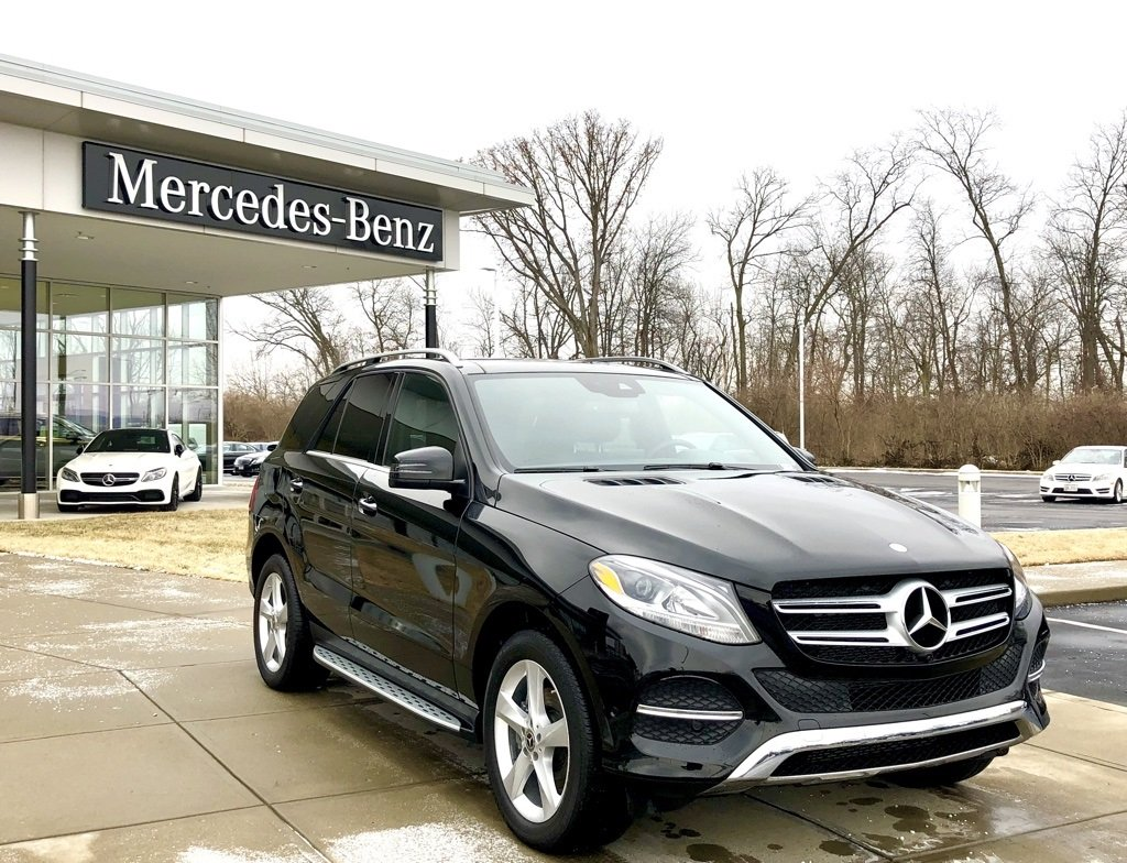 Stock w3003p certified pre owned 2017 mercedes benz gle for Certified pre owned mercedes benz