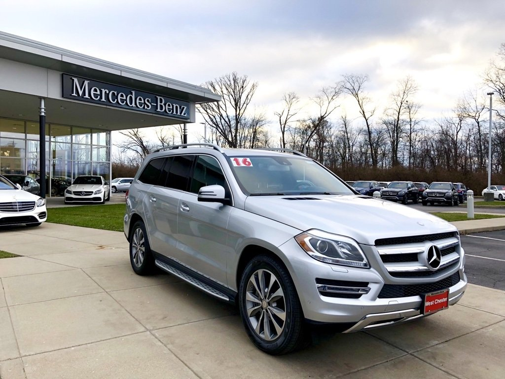 Certified Pre Owned 2016 Mercedes Benz Gl 450 4matic Suv