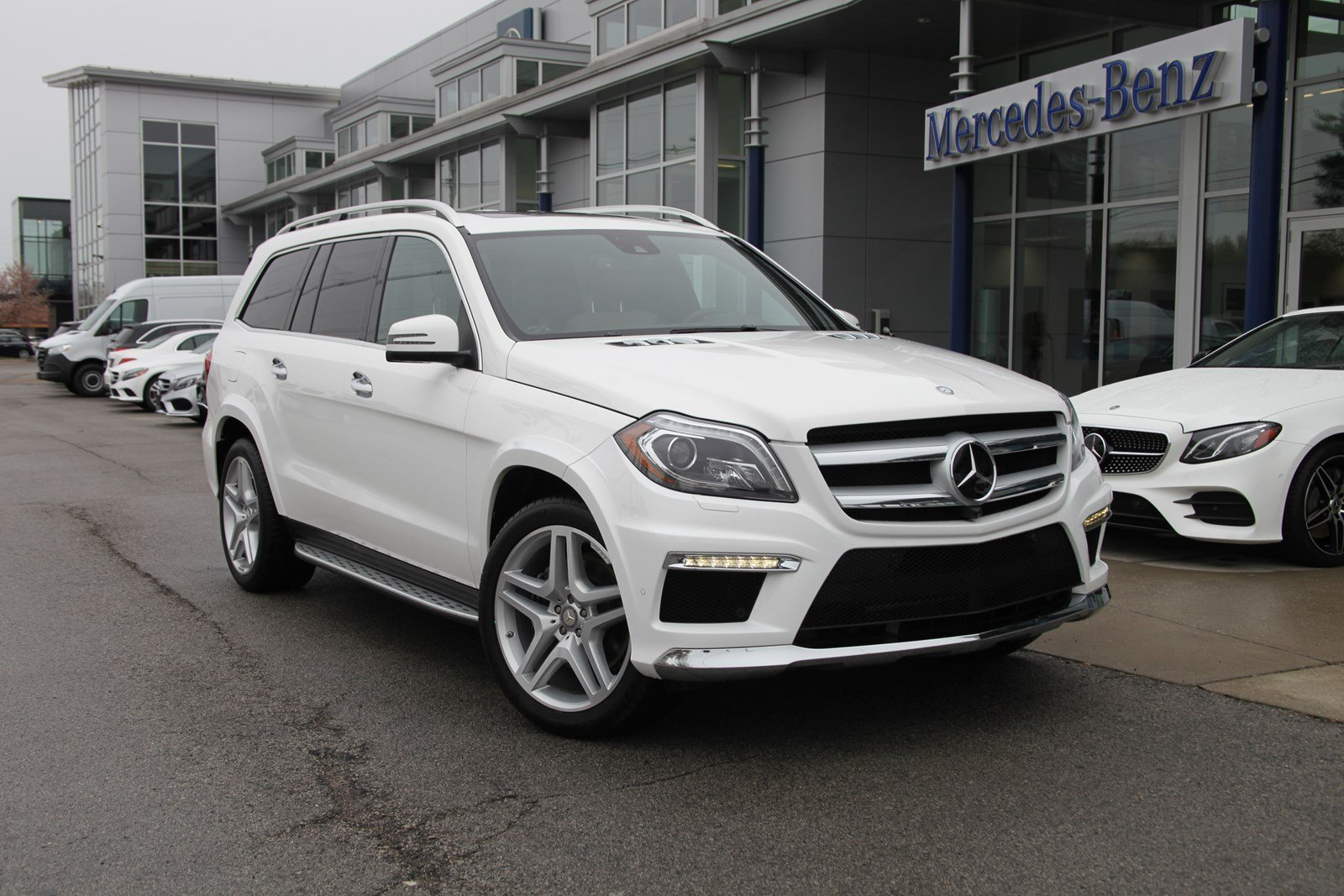 Certified Pre-Owned 2016 Mercedes-Benz GL GL 550 4MATIC® SUV