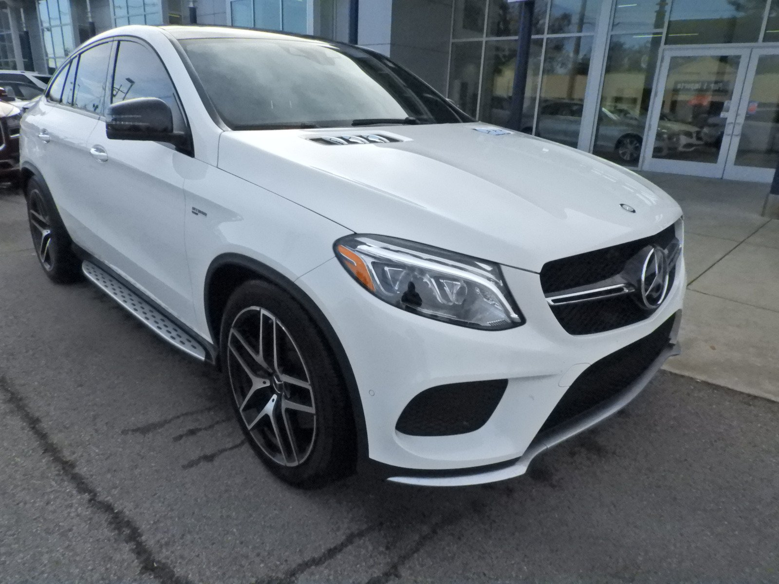Stock TX A Certified Pre Owned 2017 Mercedes Benz GLE GLE 43