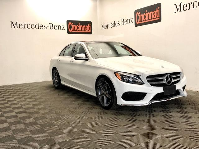 Certified Pre-Owned 2017 Mercedes-Benz C-Class C 300 4MATIC® Sedan with Sport Pkg