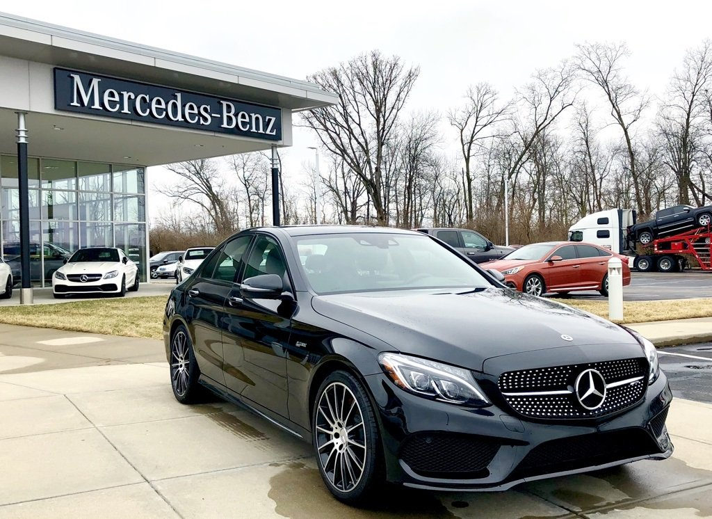 Mercedes Of West Chester >> Stock#: W17020 New 2018 Mercedes-Benz C-Class AMG® C 43 Sedan in West Chester