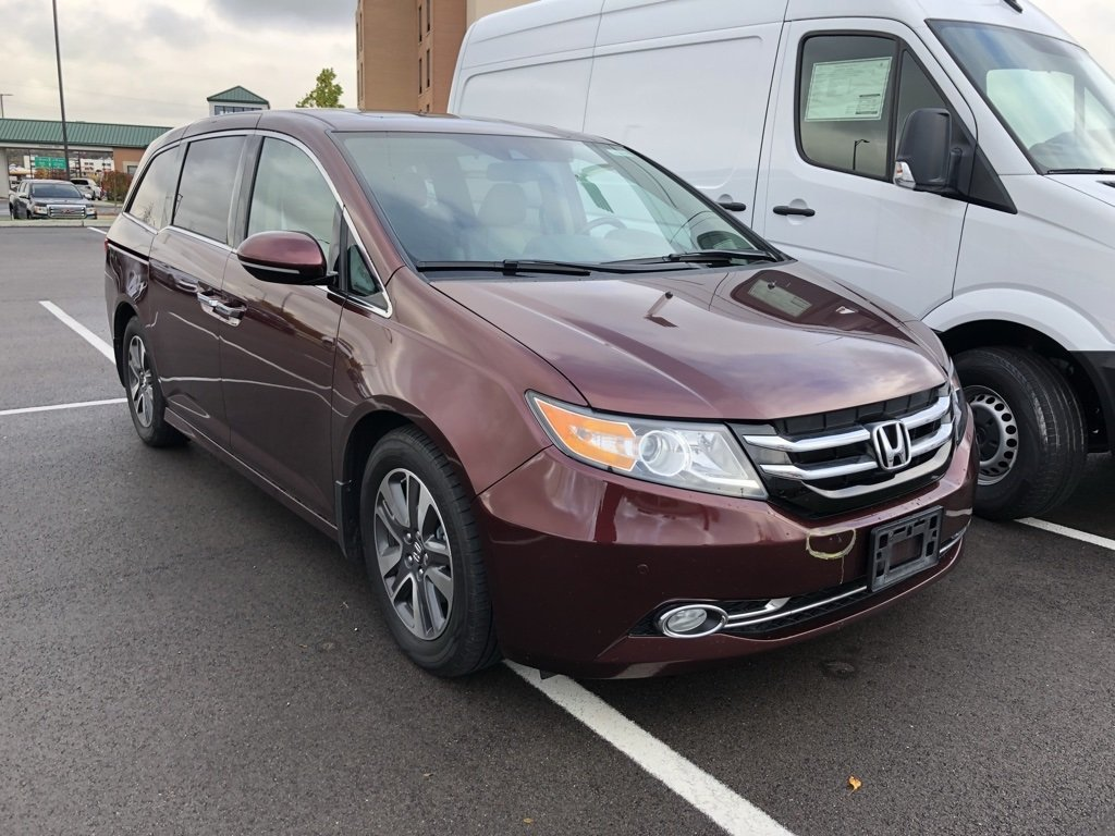 Pre Owned 2016 Honda Odyssey Touring Elite Minivan