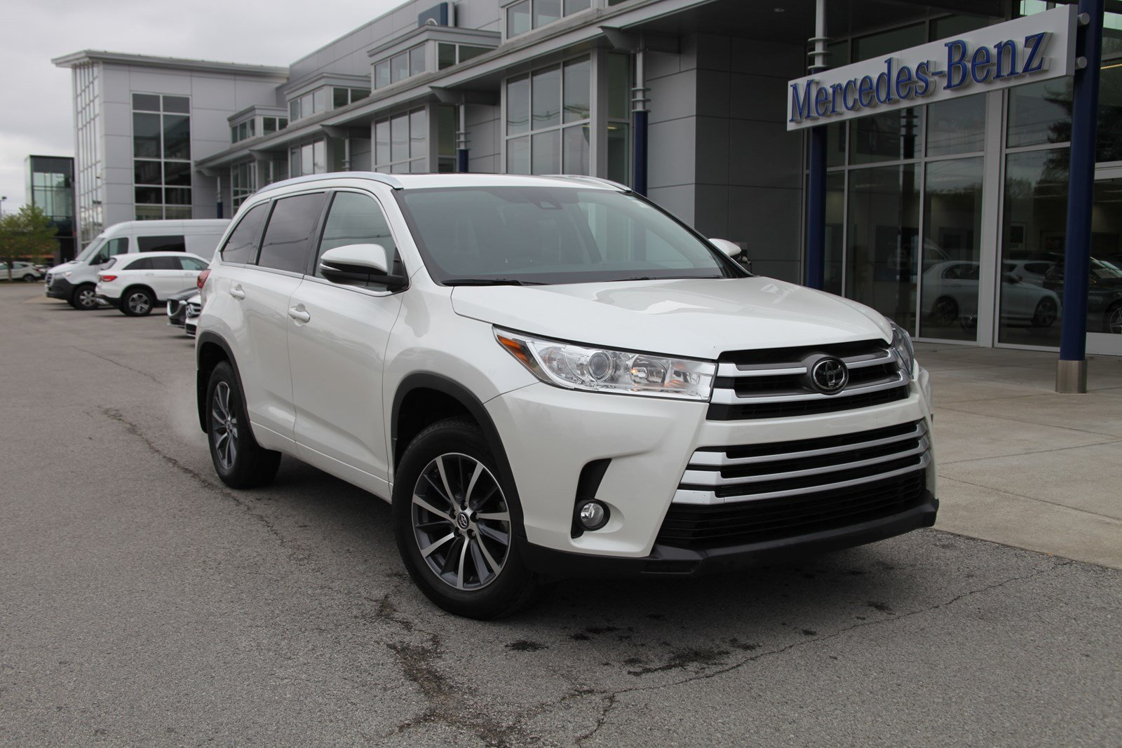 Pre Owned 2017 Toyota Highlander Xle Awd Suv