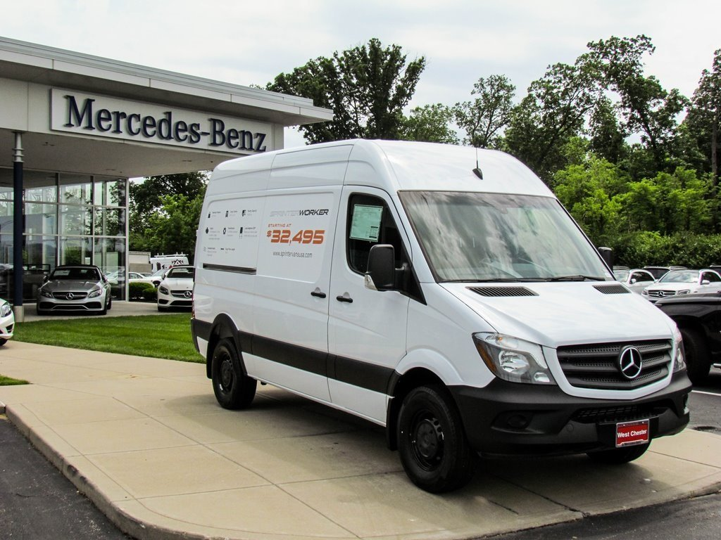 Stock V16191 New 2017 Mercedes Benz Sprinter 2500 Worker