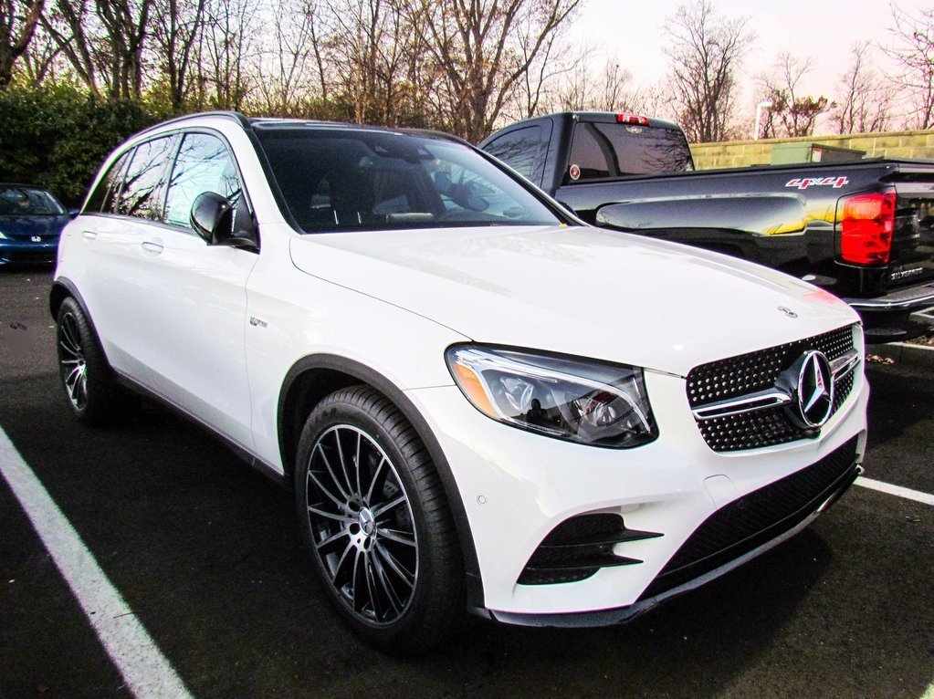stock w17129 new 2018 mercedes benz glc amg glc 43 suv in west chester. Black Bedroom Furniture Sets. Home Design Ideas