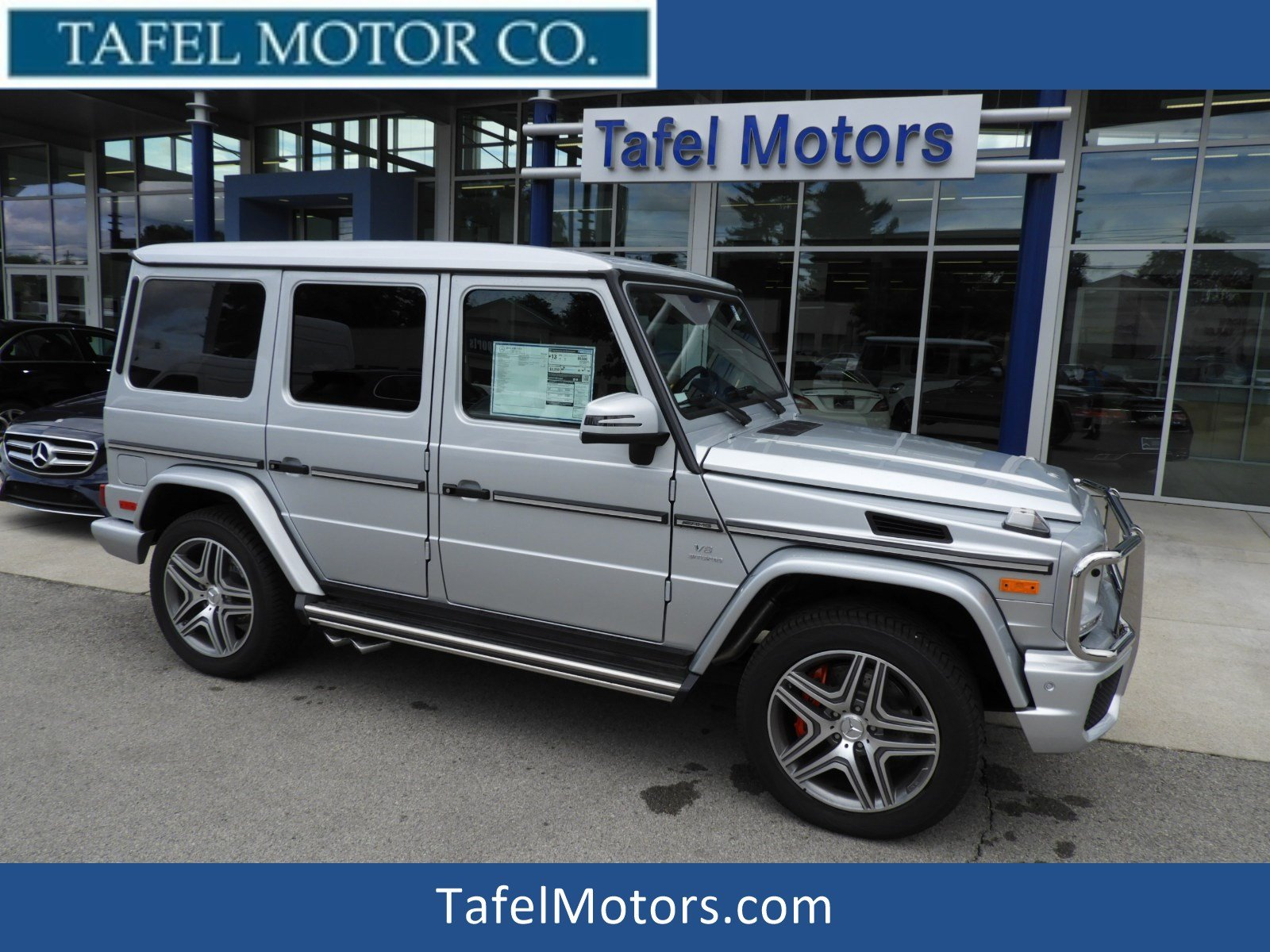 Stock T New 2018 Mercedes Benz G Class G 63 AMG 4MATIC SUV