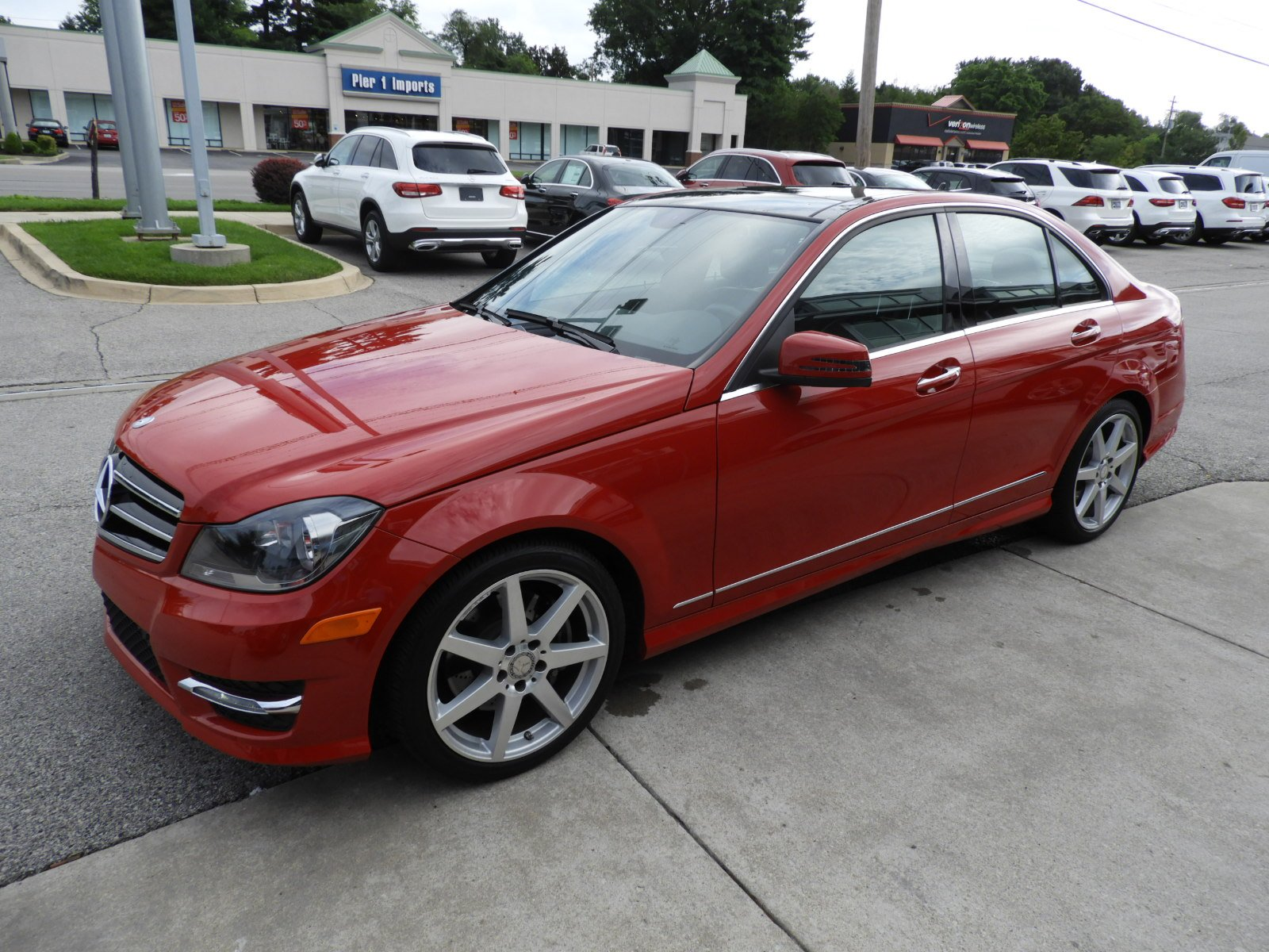 stock ua11439 certified pre owned 2014 mercedes benz c class c 300
