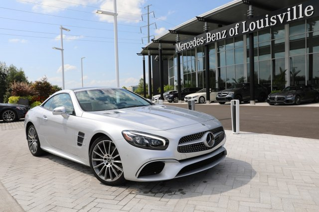 Certified Pre-Owned 2018 Mercedes-Benz SL SL 550 Roadster