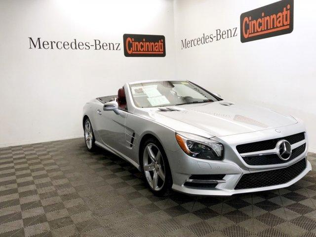 Certified Pre Owned 2016 Mercedes Benz Sl 550 2dr Roadster