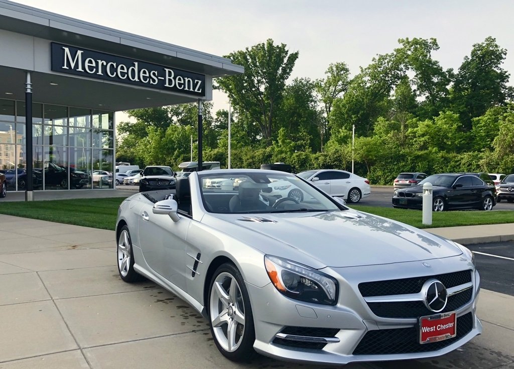 Certified Pre Owned 2014 Mercedes Benz SL 550 Roadster