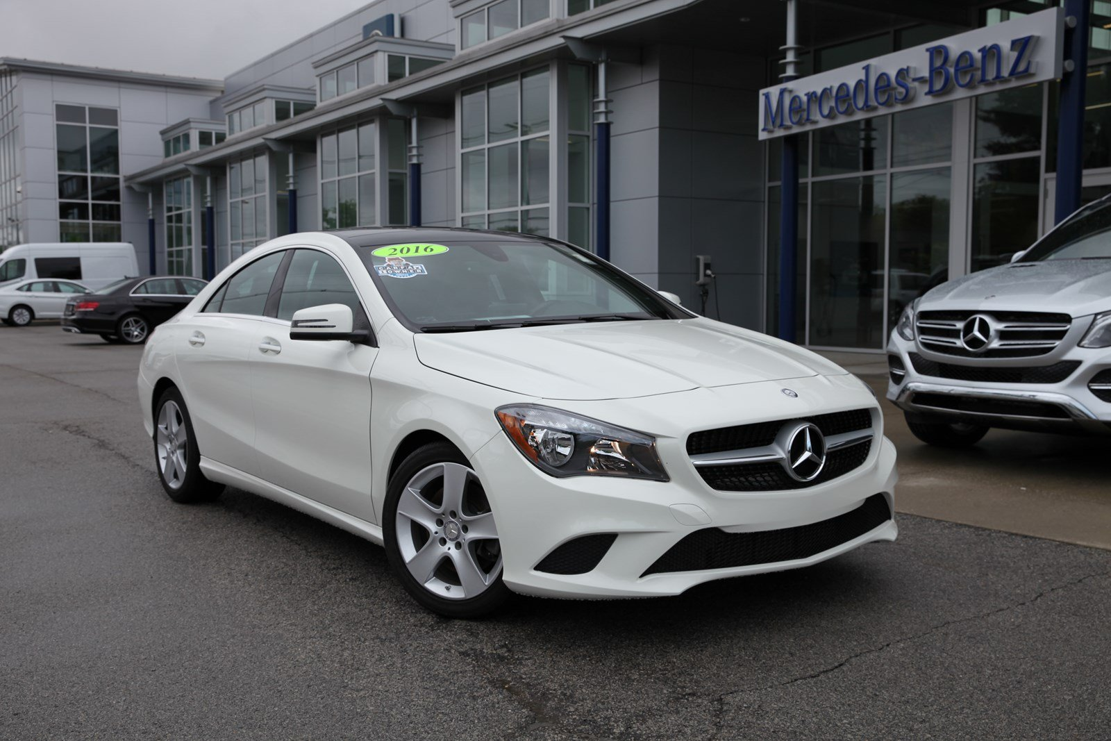 Certified Pre Owned 2016 Mercedes Benz Cla 250 Fwd 4 Door Coupe