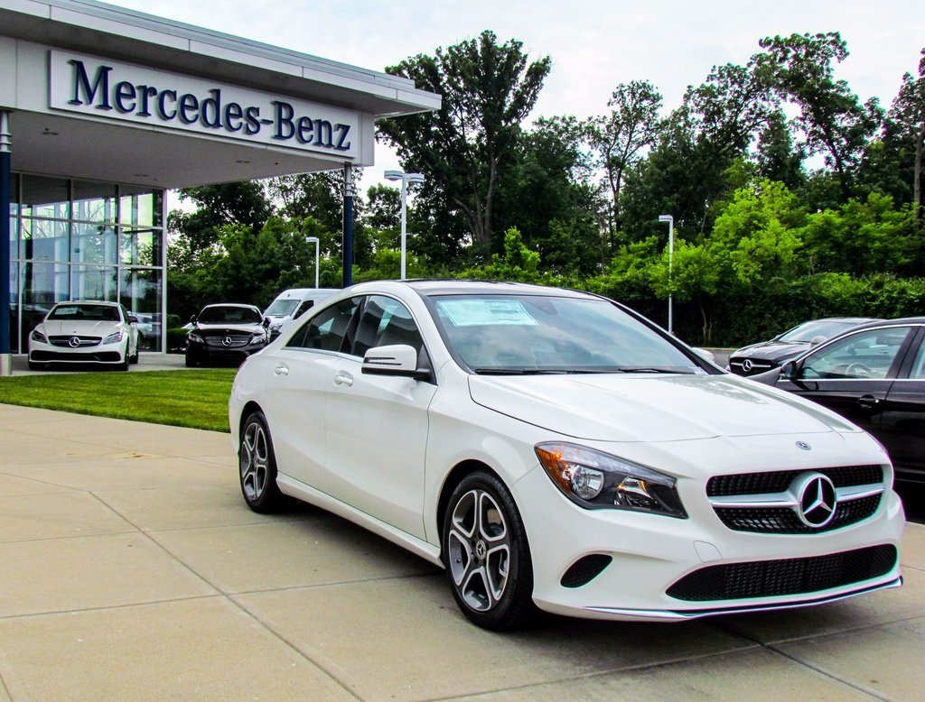 Stock w16846 new 2018 mercedes benz cla cla 250 in west for Mercedes benz financial contact number