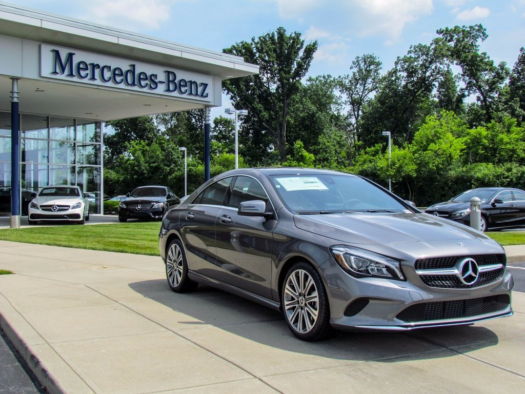 Stock w16848 new 2018 mercedes benz cla cla 250 in west for Mercedes benz financial contact number