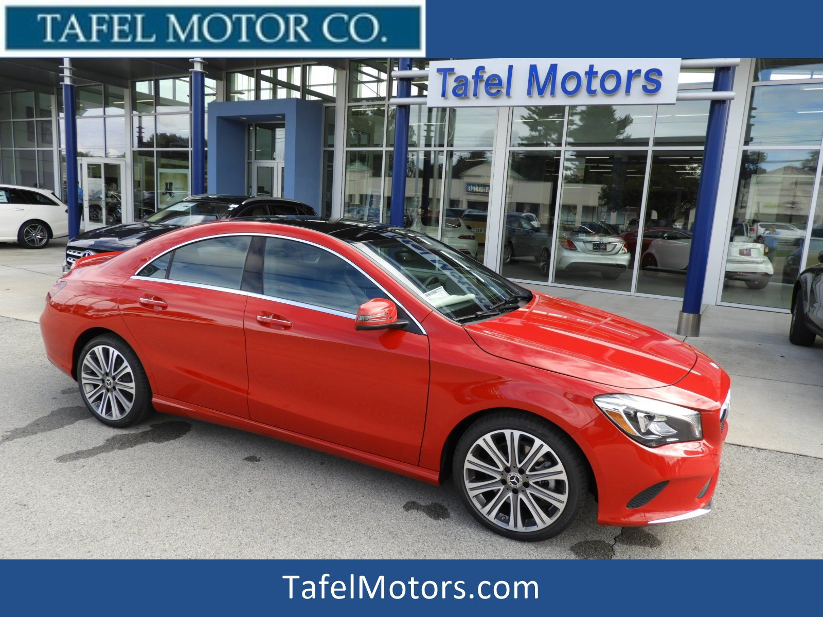 Stock M New 2019 Mercedes Benz CLA CLA 250 4MATIC 4 Door