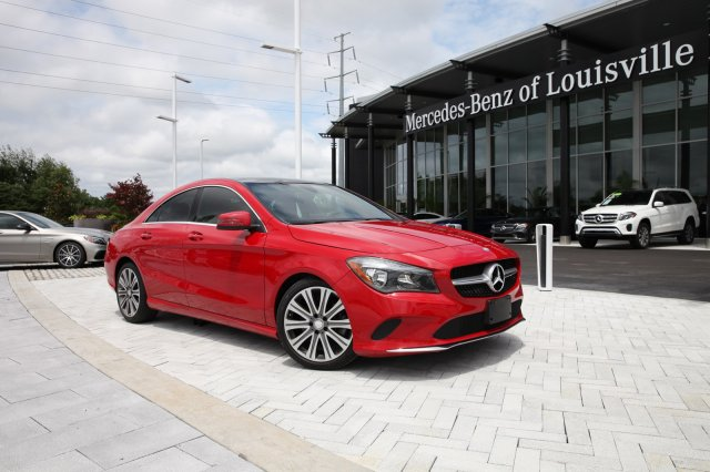 Certified Pre-Owned 2017 Mercedes-Benz CLA CLA 250 4MATIC® 4-Door Coupe