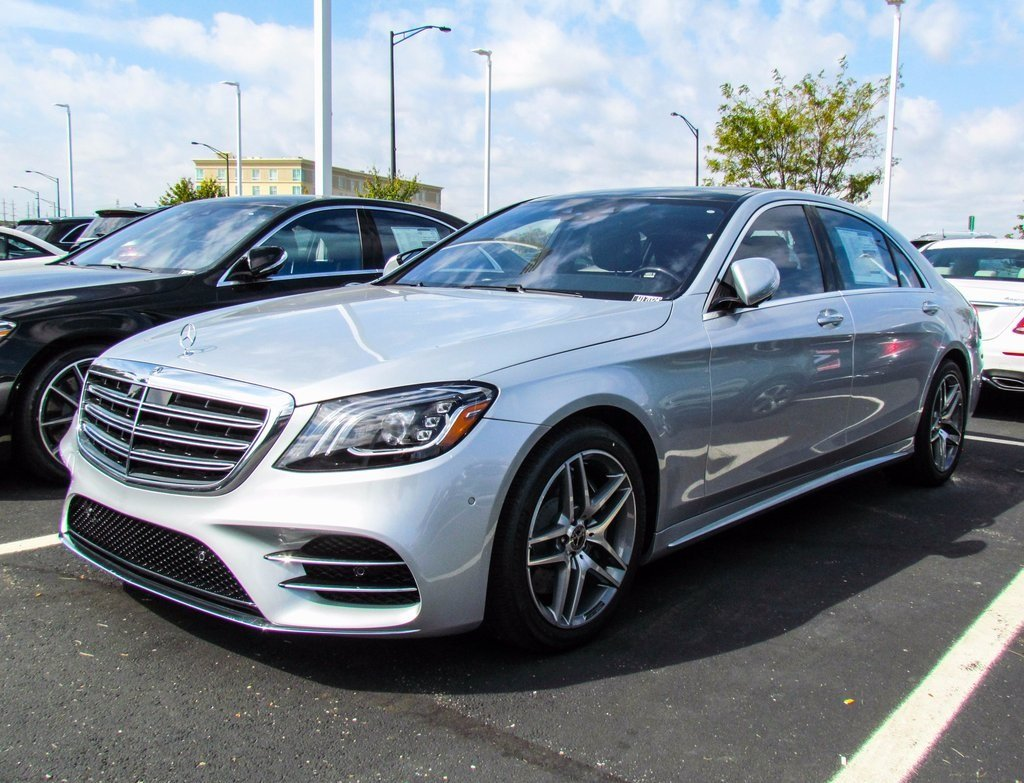 Stock w17024 new 2018 mercedes benz s class s 450 in for 2018 mercedes benz lineup