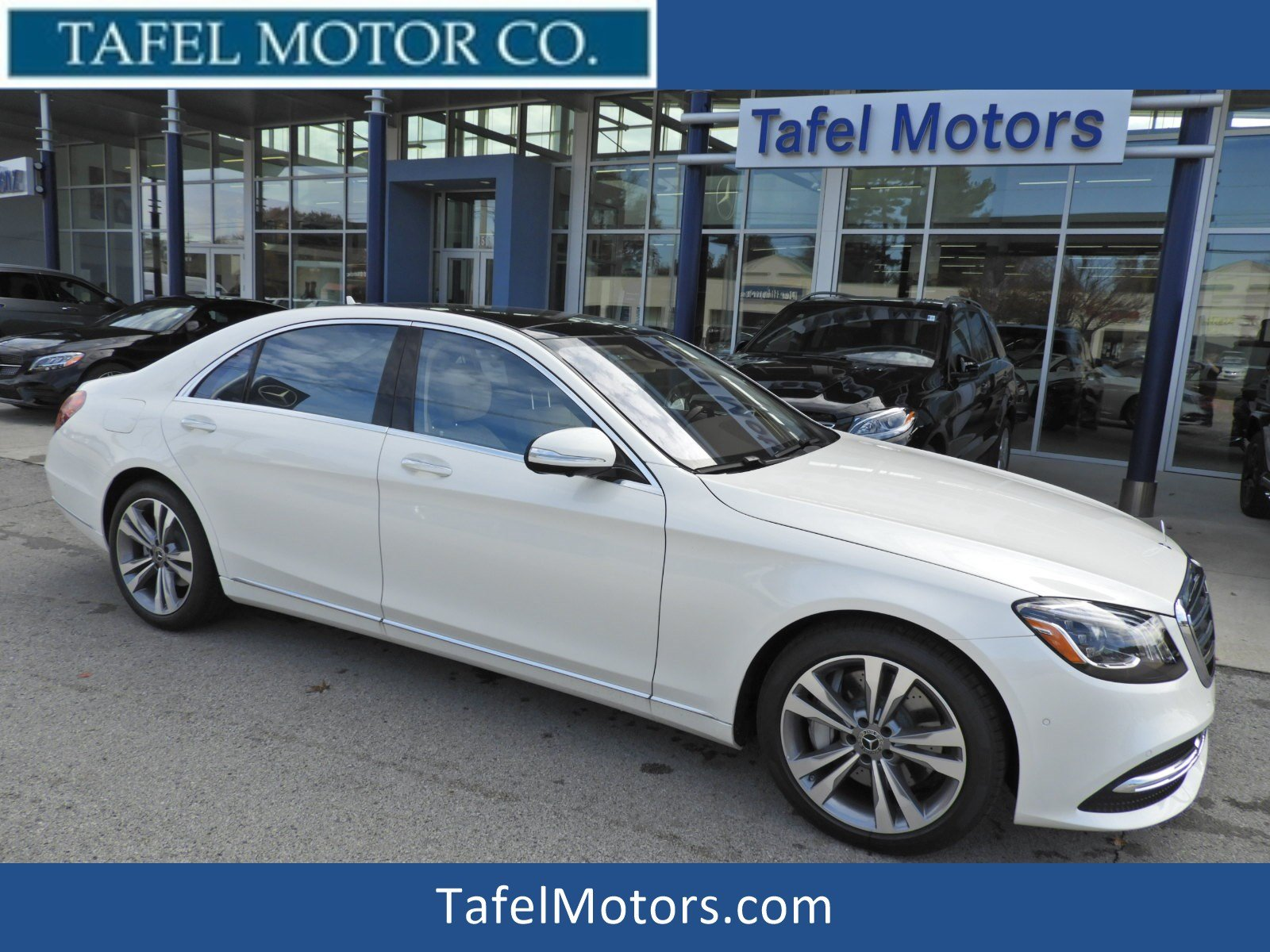 Stock M New 2019 Mercedes Benz S Class S 450 4MATIC Sedan in