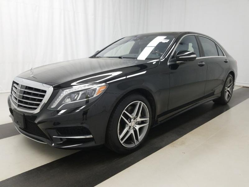 Certified Pre Owned 2016 Mercedes Benz S Cl 550 4matic Sedan