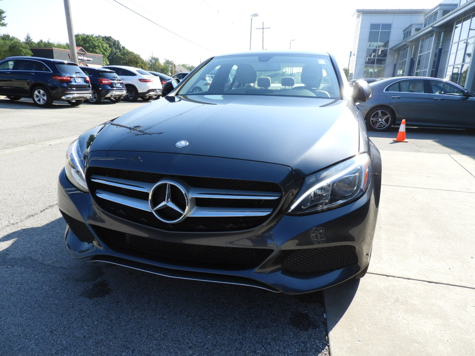 Stock UC Certified Pre Owned 2016 Mercedes Benz C Class C 300