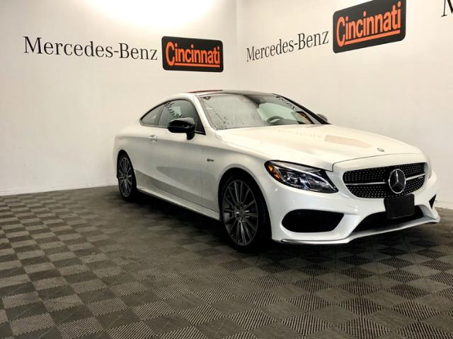 Certified Pre-Owned 2017 Mercedes-Benz C-Class AMG® C 43 4MATIC® Coupe