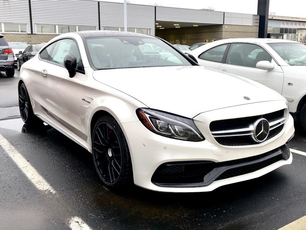 Stock W17176 New 2018 Mercedes Benz C Class Amg 174 C 63 S