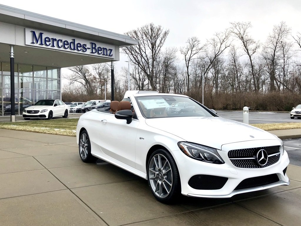 stock w17179 new 2018 mercedes benz c class amg c 43 cabriolet in west chester. Black Bedroom Furniture Sets. Home Design Ideas