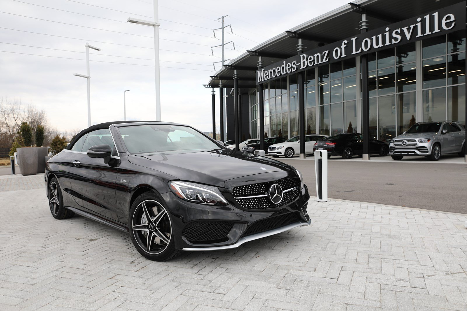 Certified Pre-Owned 2017 Mercedes-Benz C-Class AMG® C 43 4MATIC® Cabriolet