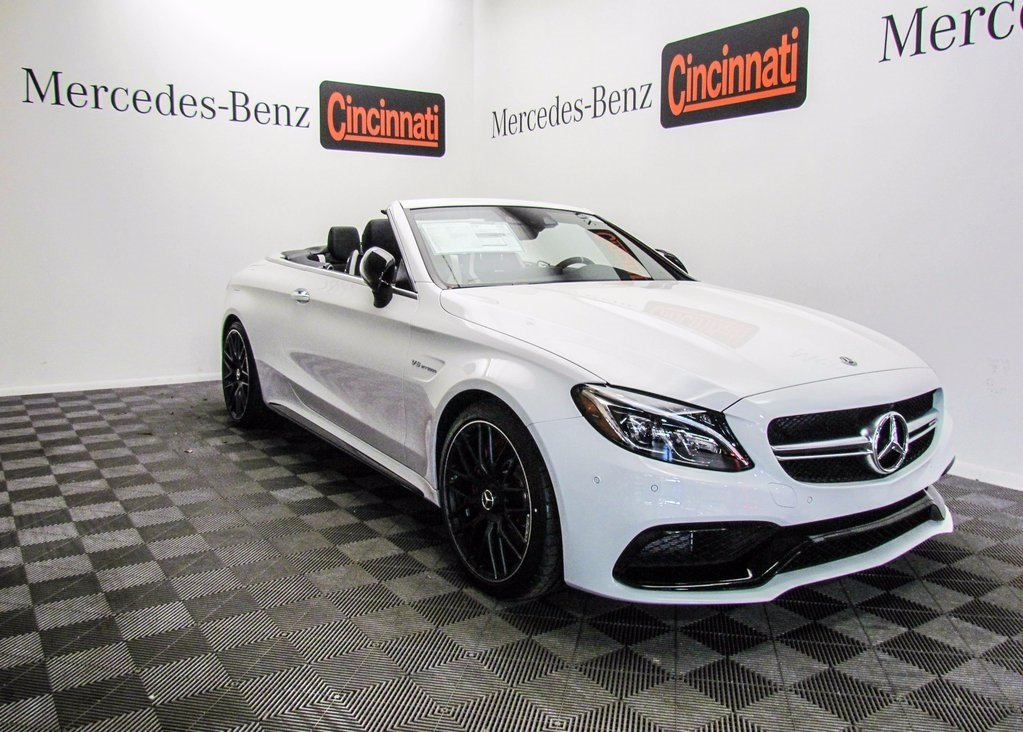 New 2018 Mercedes Benz C Class C 63 S AMG® Cabriolet
