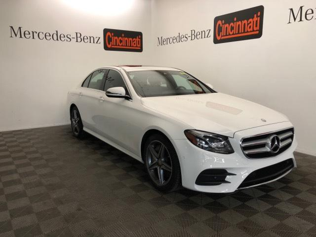 Certified Pre Owned 2017 Mercedes Benz E Cl 300 Sport 4matic