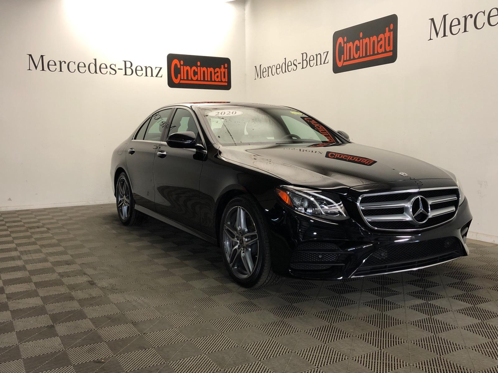 Certified Pre-Owned 2020 Mercedes-Benz E-Class E 350 4MATIC® Sedan