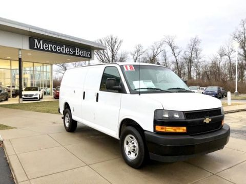 Pre-Owned 2018 Chevrolet Express Work Cargo Van