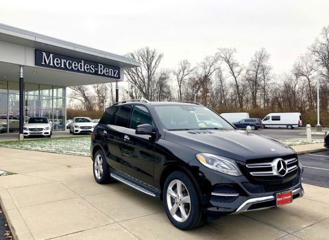 Certified Pre-Owned 2016 Mercedes-Benz GLE 350 4MATIC® Sedan