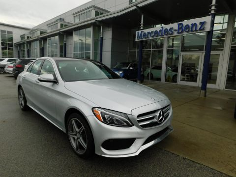Certified Pre-Owned 2015 Mercedes-Benz C-Class C 300 4MATIC® Sport Sedan
