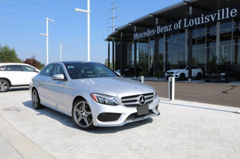 Certified Pre-Owned 2016 Mercedes-Benz C-Class C 300 4MATIC® Sport Sedan