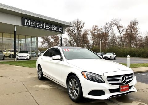 Certified Pre-Owned 2015 Mercedes-Benz C-Class C 300 4MATIC® Sedan