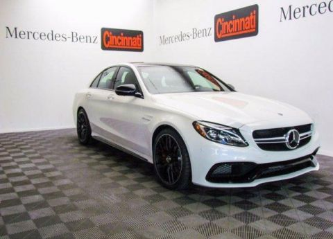 Pre-Owned 2018 Mercedes-Benz C-Class AMG® C 63 S Sedan