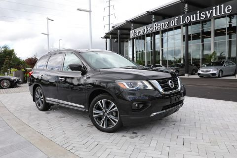 Pre-Owned 2017 Nissan Pathfinder Platinum 4WD SUV