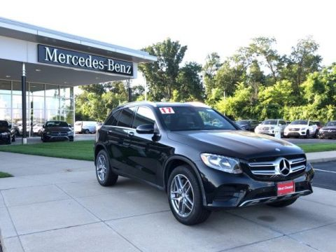 Certified Pre-Owned 2017 Mercedes-Benz GLC GLC 300 4MATIC® SUV