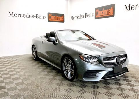 Pre-Owned 2018 Mercedes-Benz E-Class E 400 4MATIC® Cabriolet