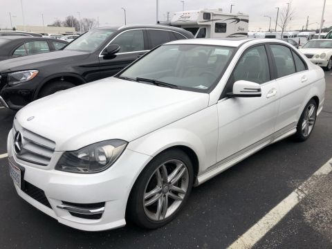 Certified Pre-Owned 2014 Mercedes-Benz C-Class C 300 4MATIC® Sedan