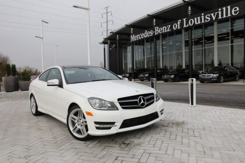Pre-Owned 2015 Mercedes-Benz C-Class C 250 RWD Coupe