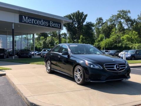 Certified Pre-Owned 2014 Mercedes-Benz E-Class E 350 Sedan