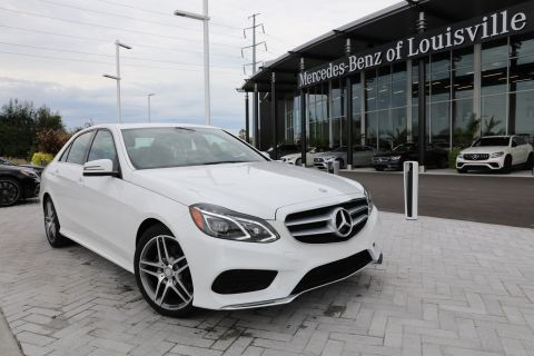 Certified Pre-Owned 2016 Mercedes-Benz E-Class E 400 4MATIC® Sedan